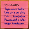 News del 27 marzo 2015