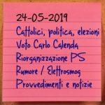 News del 24 maggio 2019