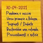 News del 30 aprile 2021
