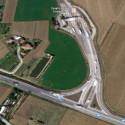 L'agognata sistemazione dello svincolo all'uscita Interporto della A13