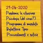 News del 29 giugno 2020